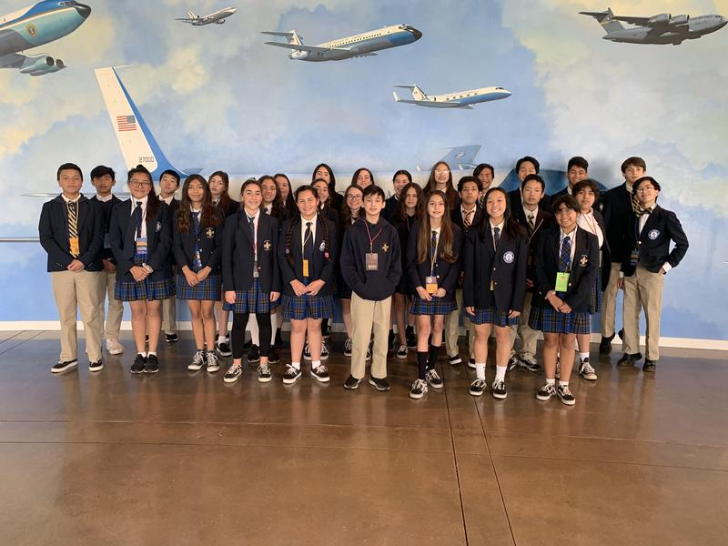 8th Graders Visit the Ronald Reagan Library Featured Photo