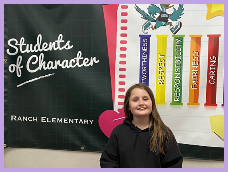 Student of the Month for November