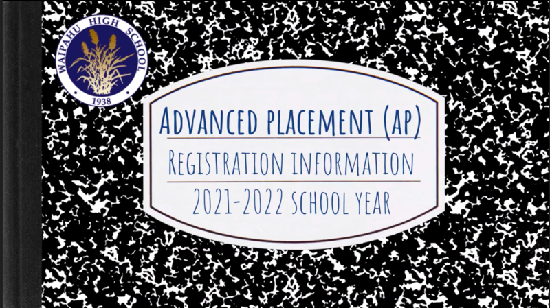 AP Course Registration Information