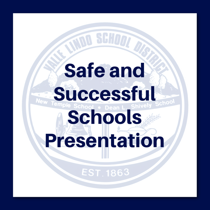 Safe and Successful Schools