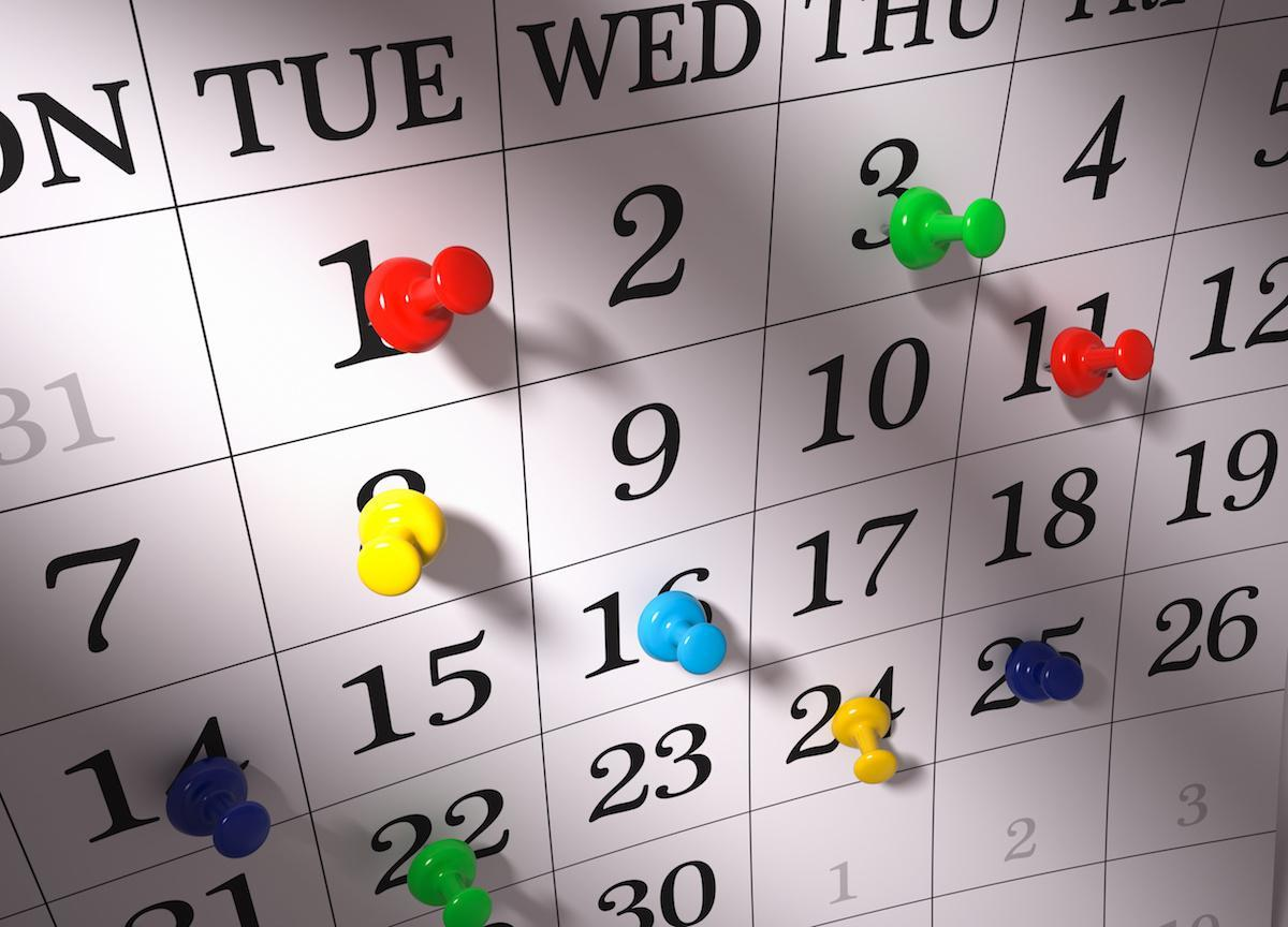 Staff Workday Calendars