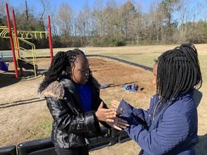 LLE students learn through play