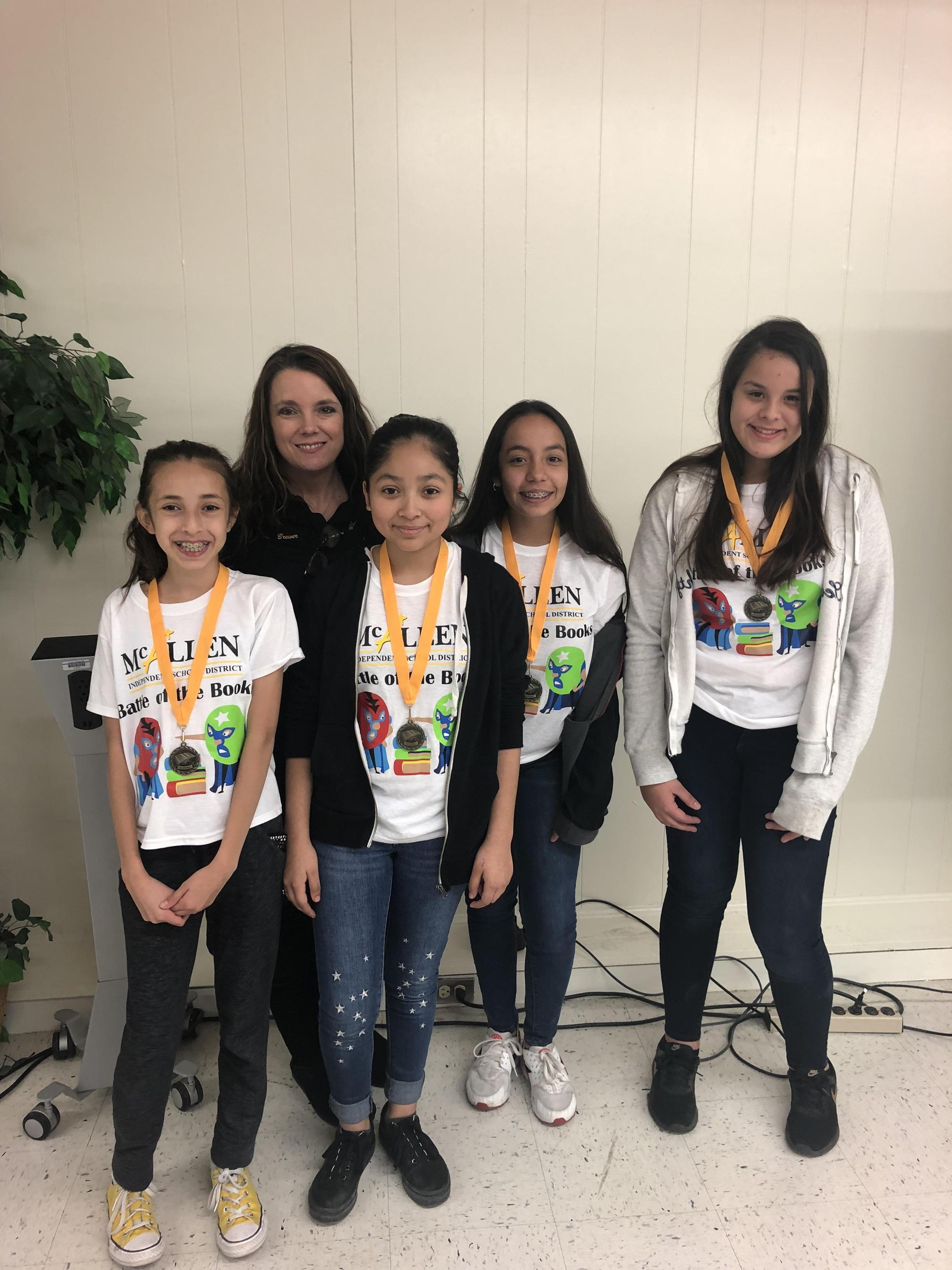 Travis Battle of the Books Team 2019