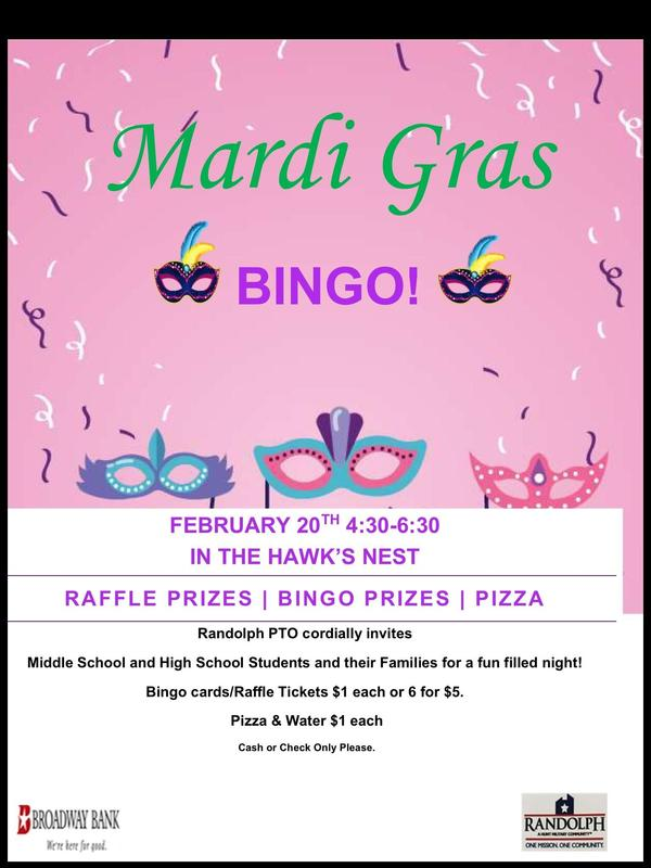Bingo Night Presented by RFISD PTO