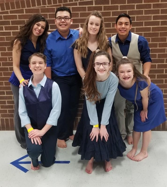 JV Guard members are: Julian Lopez, Nathaniel Esparza, Erin Underwood, Savina Bernal, Aaron Dansby, Catherine Clements and Jolene Patino.