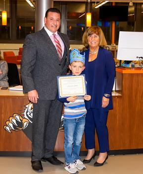 Hatchery Hill School Student of the Month - November 2019 - Harrison Smith