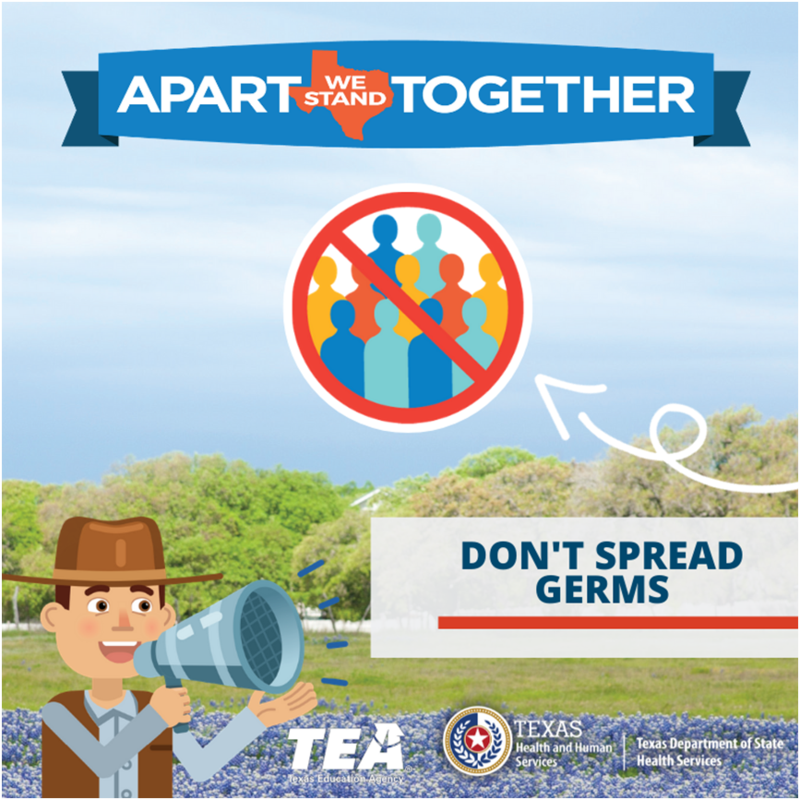 Dont Spread Germs!