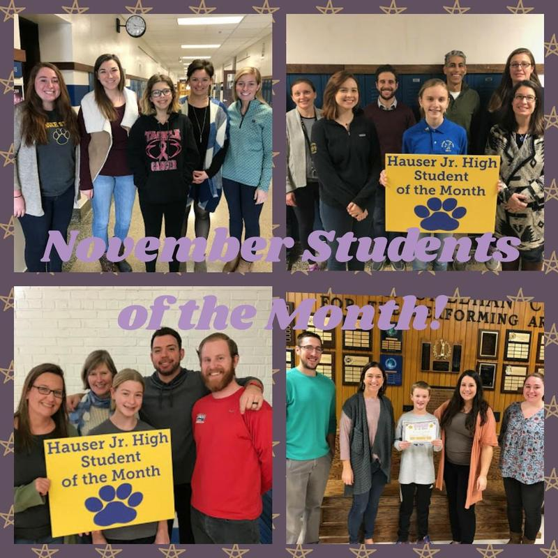 November Students of the Month! Featured Photo