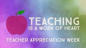 May 17-21 Teacher/Staff Appreciation Week Featured Photo