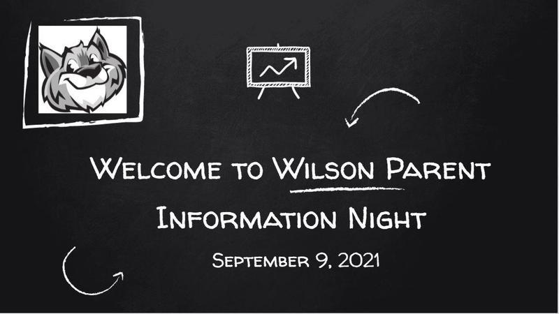 WILSON: Parent Information Night Featured Photo