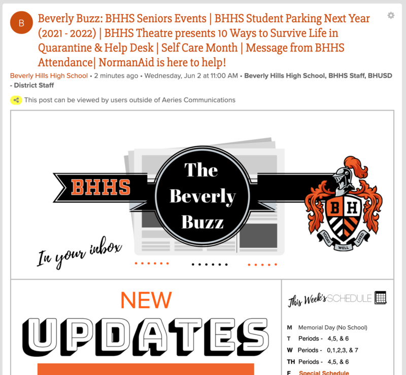 BHHS Newsletter - The Beverly Buzz - June 2, 2021