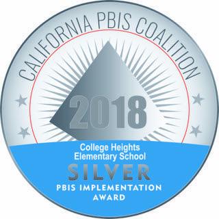 PBIS 2018 Silver Medal Awarded