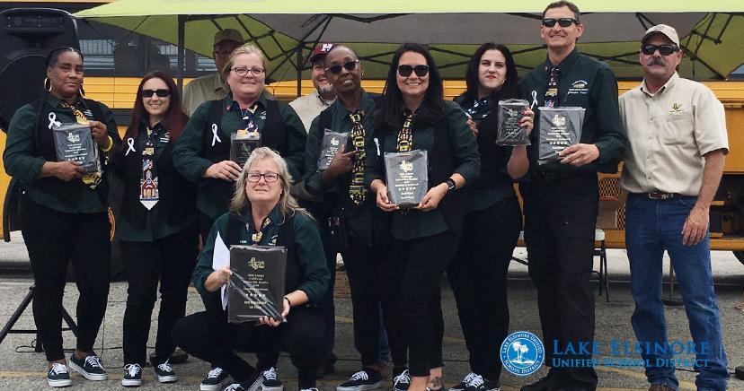 LEUSD bus drivers qualify for State ROADEO Championship as Best Represented! Competition pits teams on timed skills course. So  awesome!