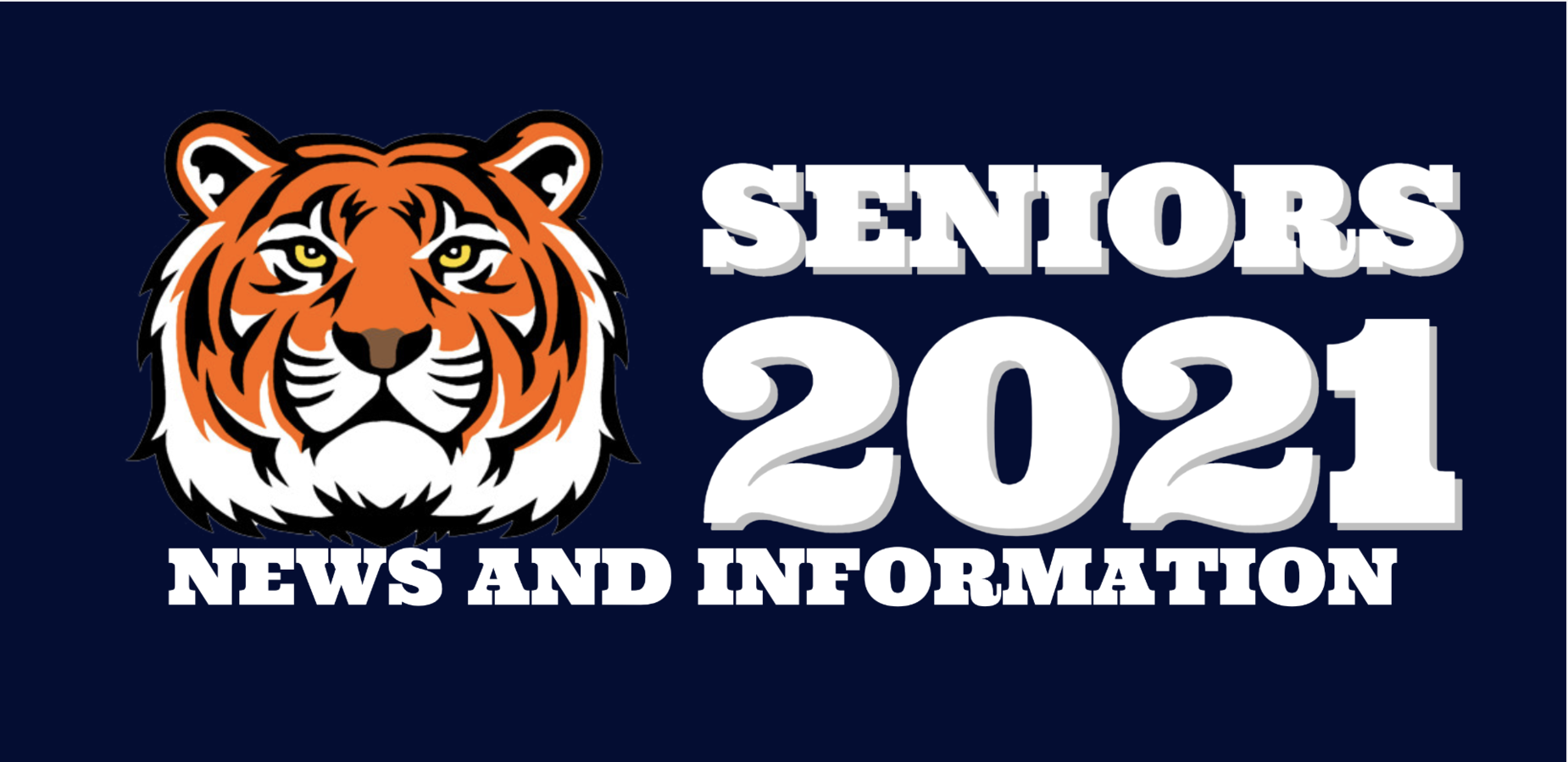 Tiger logo with Seniors 2020 News and Information