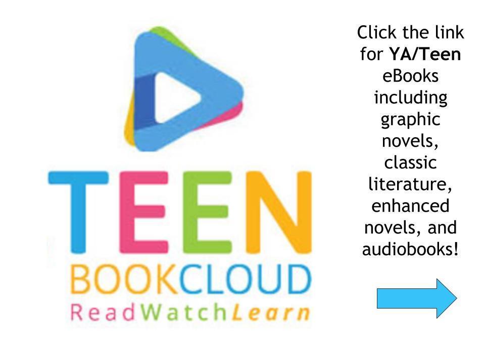 Read eBooks for teens on Teen Book Cloud!