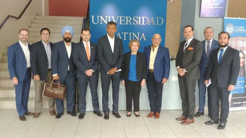 Visita de los Ejecutivos de Liberty Latin America y de Cable And Wirelles Panamá. Featured Photo