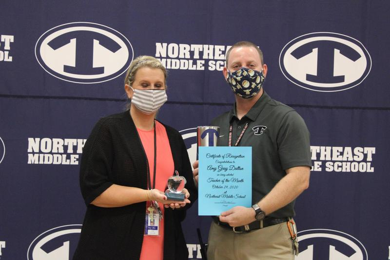 October Teacher of the Month Featured Photo
