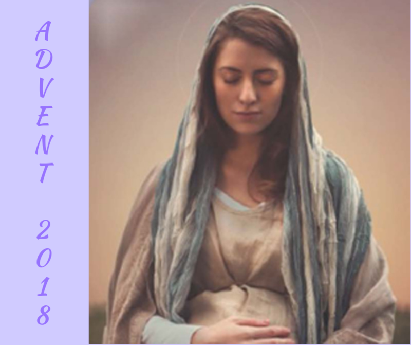 Mary is our Advent model Thumbnail Image