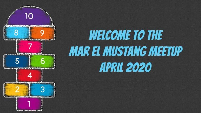 Mar El Mustang Meetup