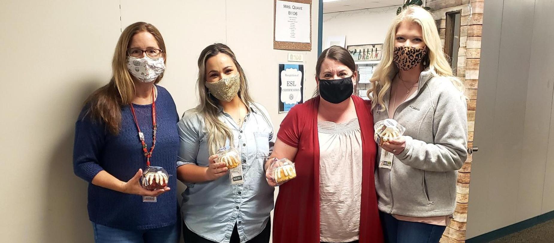 LHS Teachers receive a sweet treat for Teacher Appreciation Week