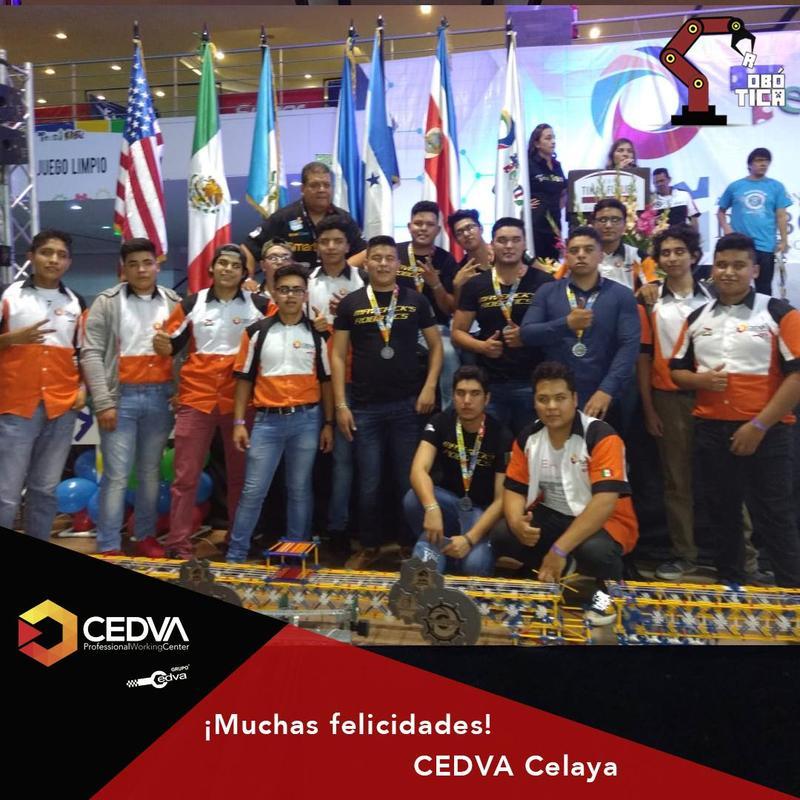 ¡Muchas felicidades! #CEDVACelaya 1er. Lugar en la categoría VEX, Competencia Internacional de Guatemala. Featured Photo
