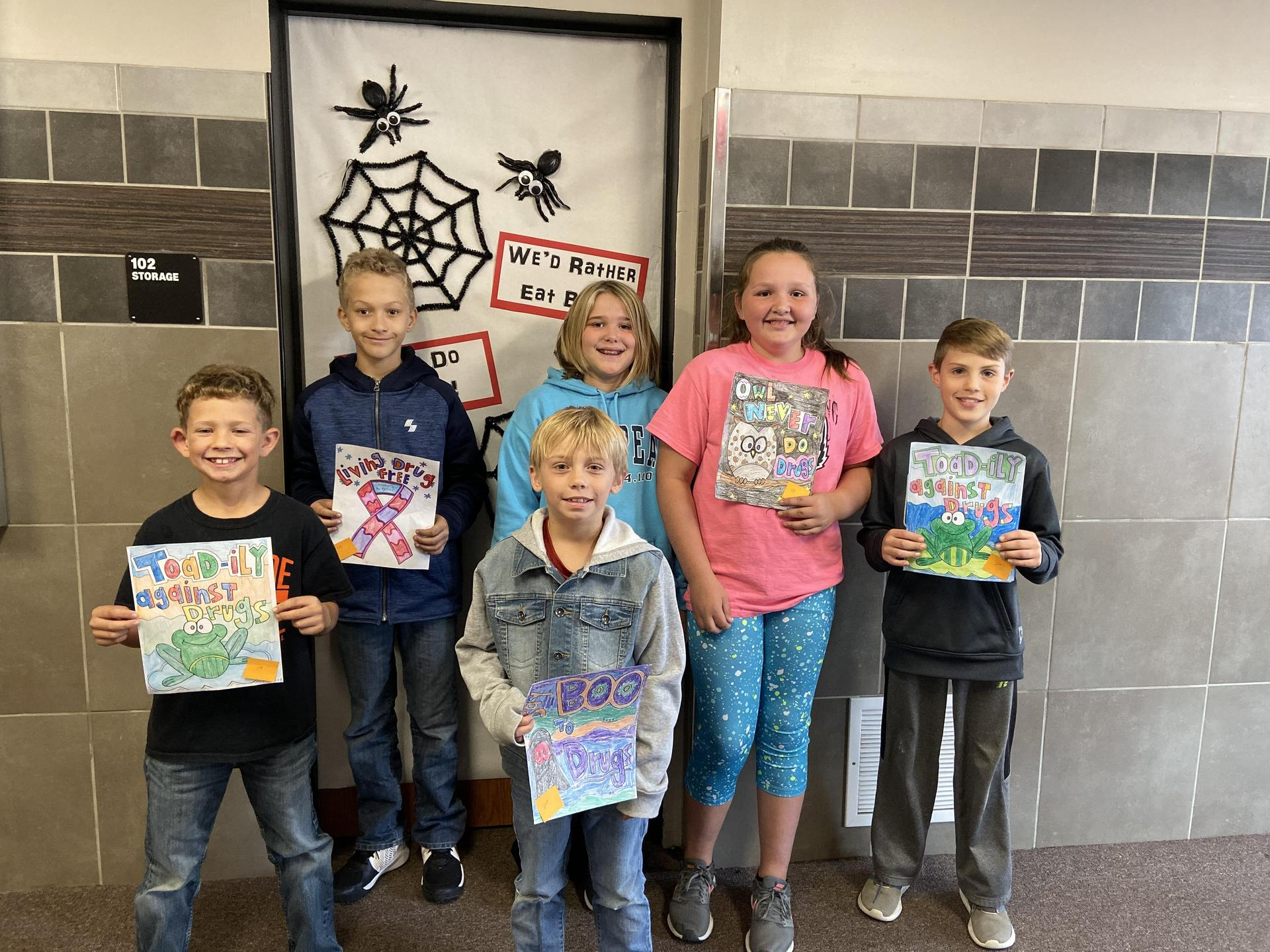 Coloring Page Winners