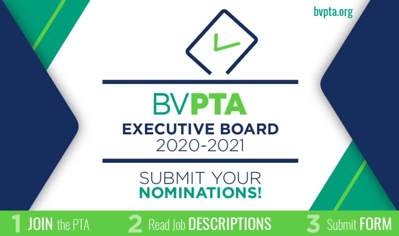 Slate of Nominees for 2020-2021 BV PTA Executive Board Presented Featured Photo