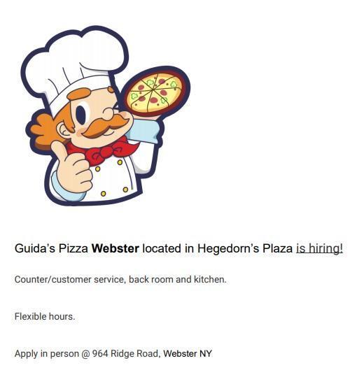 guidas pizza