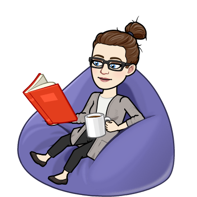 me reading and relaxing