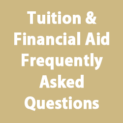 button for tuition and financial aid FAQs