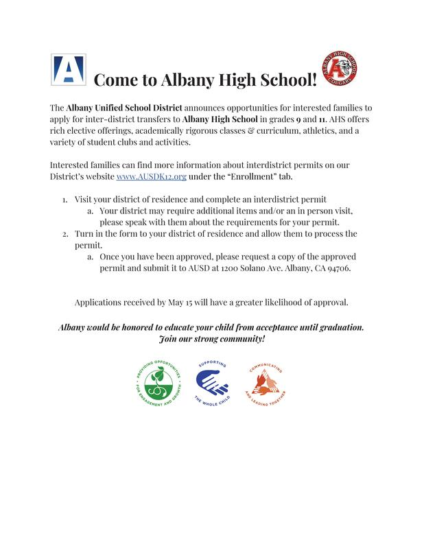 Come to AHS!