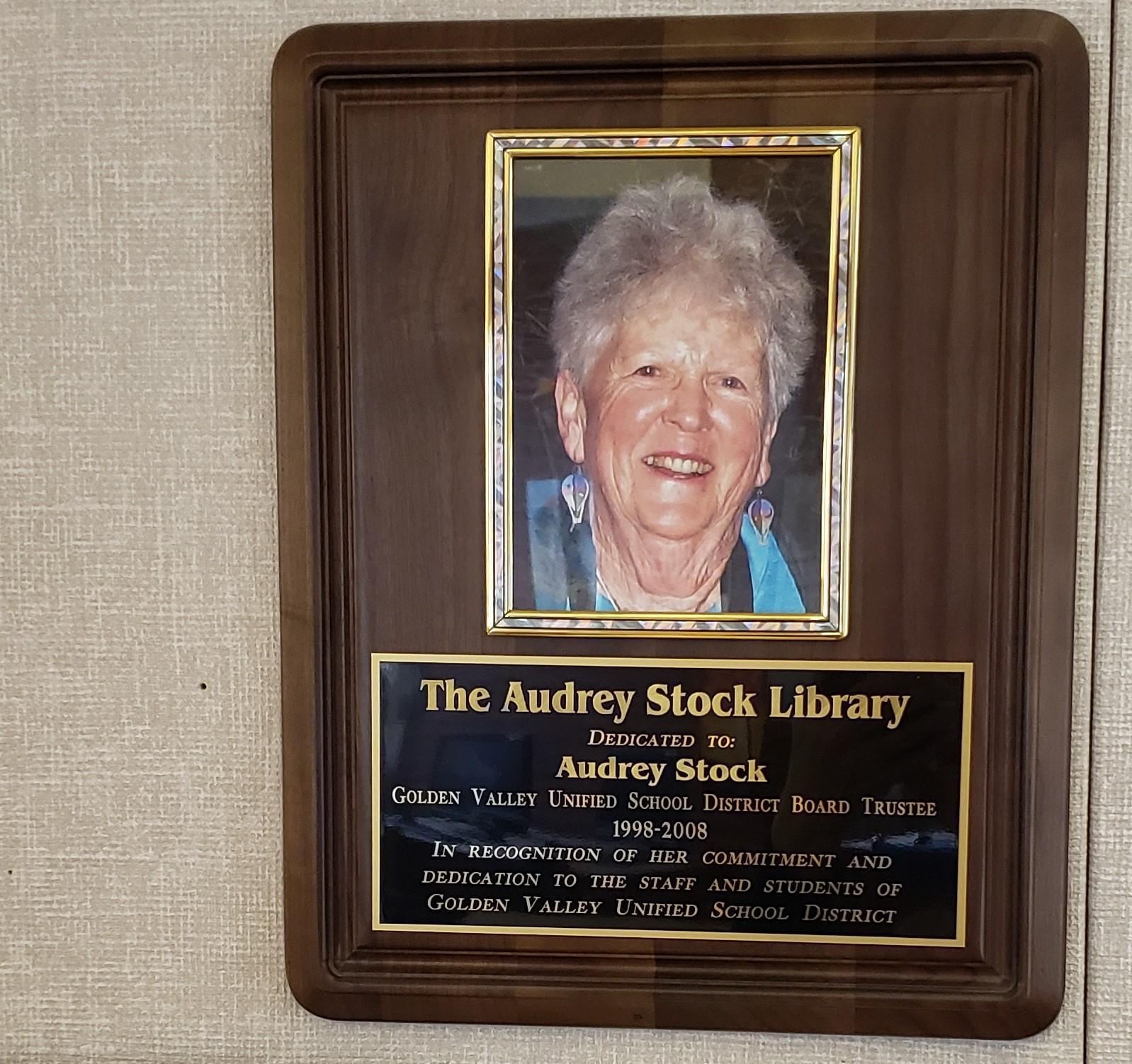 Picture of Audrey Stock