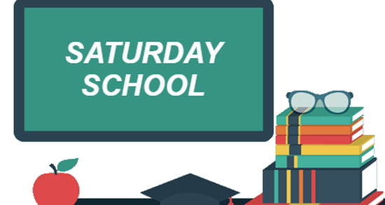 No Saturday School this weekend, November 28 Featured Photo