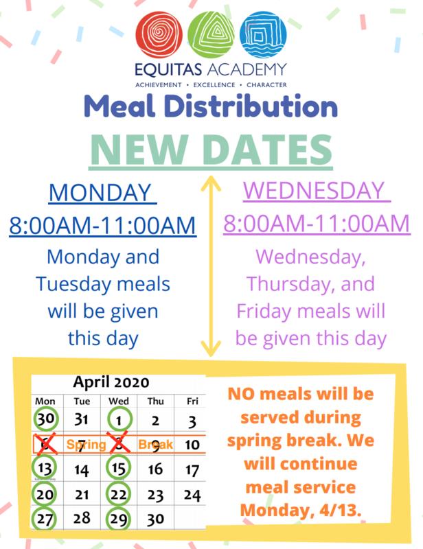 Meal Distribution Updates / Cambios a Distribucion de Comida Featured Photo