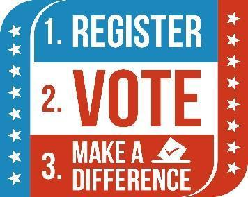 Don't forget to register to vote in the November 6th Election! Featured Photo