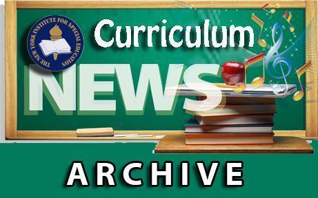 Curriculum News Archive