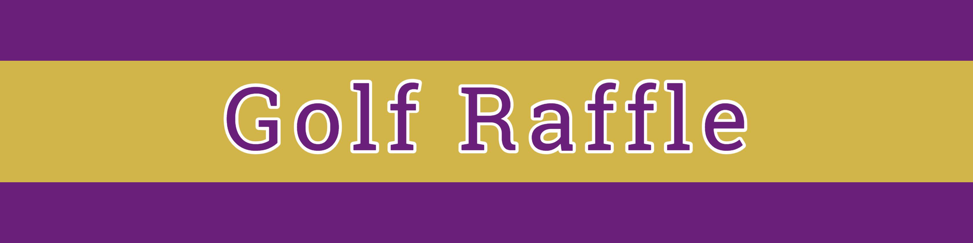 Golf Raffle Header