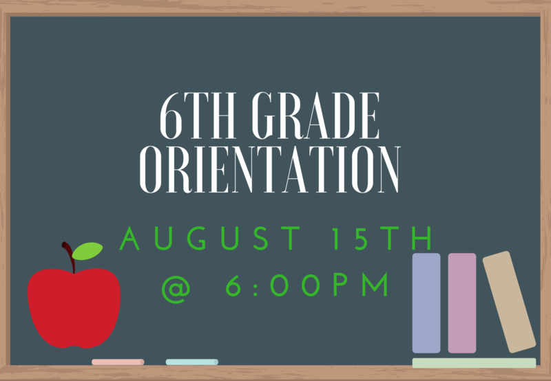 6th Grade Orientation Thumbnail Image