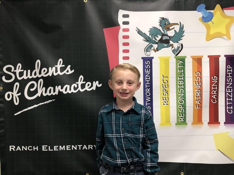 Maverick Fleagle - Student of the Month