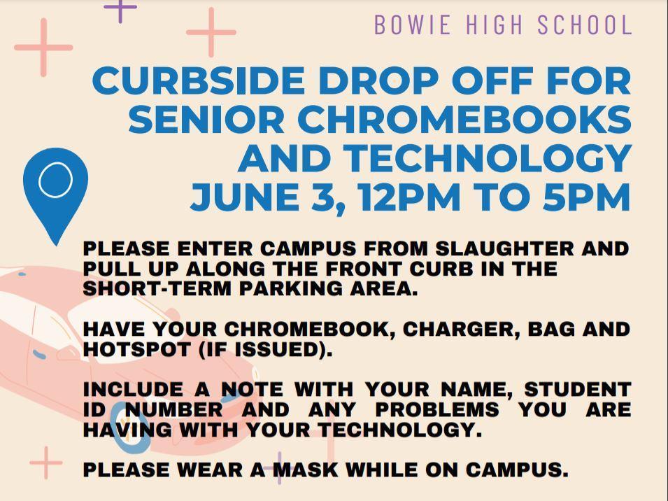 Chromebook Drop Off Flyer