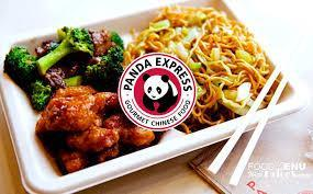 a picture of panda express food with broccoli
