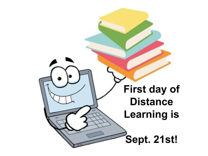 Distance Learning Still Happening, Sept. 21st! Featured Photo