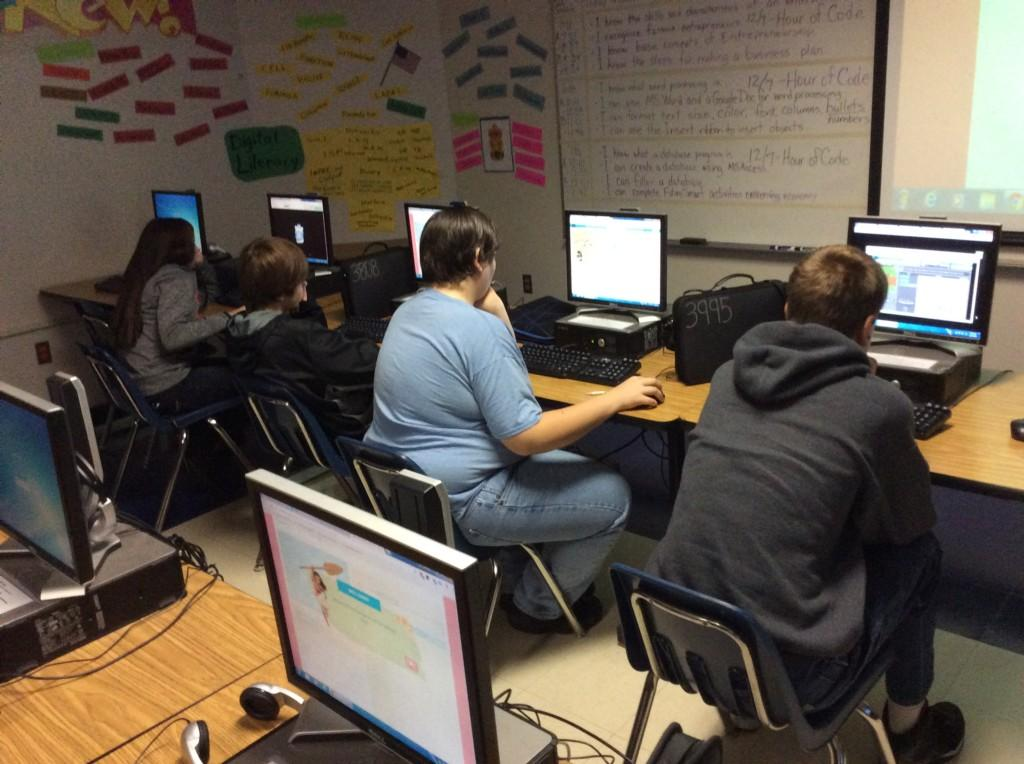 student on code.org