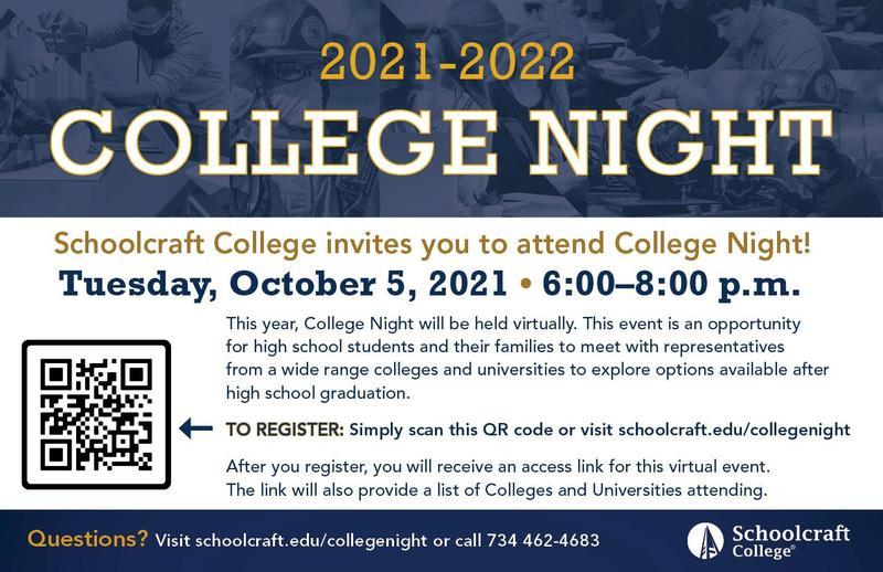 Schoolcraft College Night