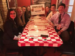TKHS students enjoy some free time at the BPA state convention.