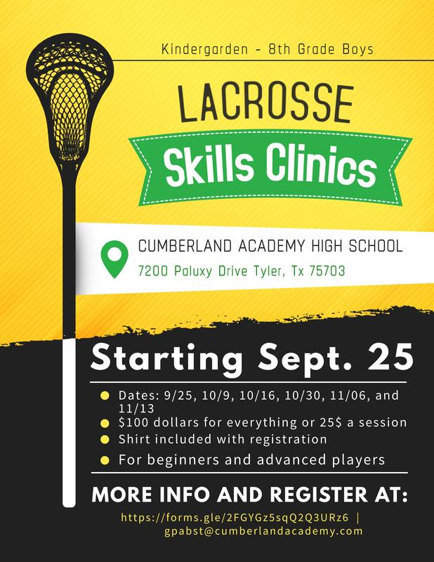Boys Lax Clinic Information Featured Photo
