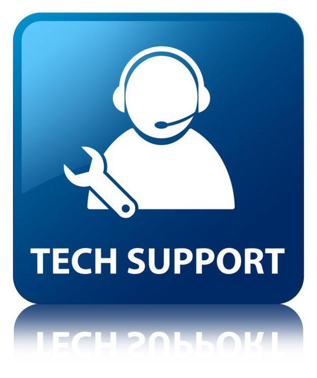 Tech Support is Here!