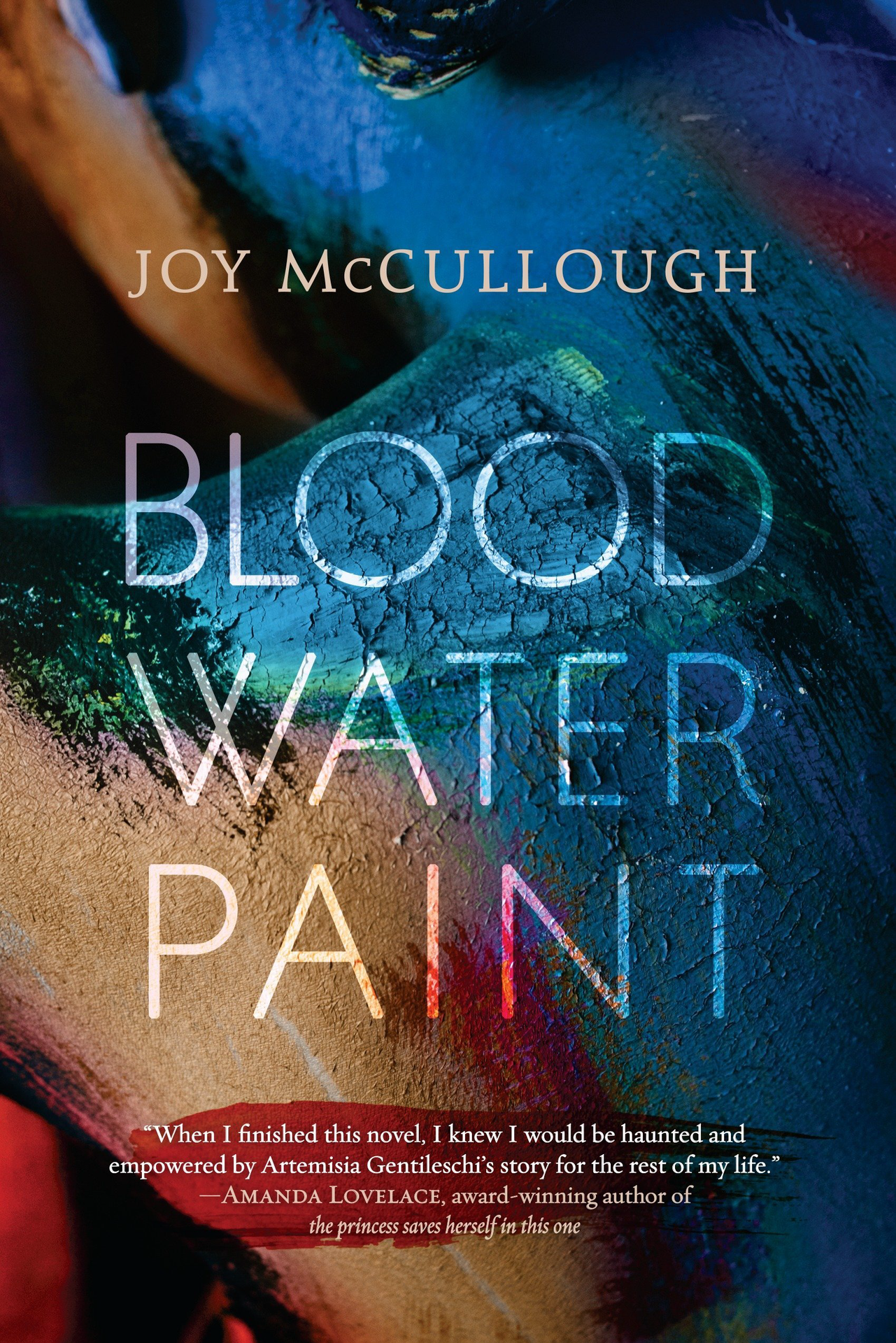 Book cover for Blood Water Paint