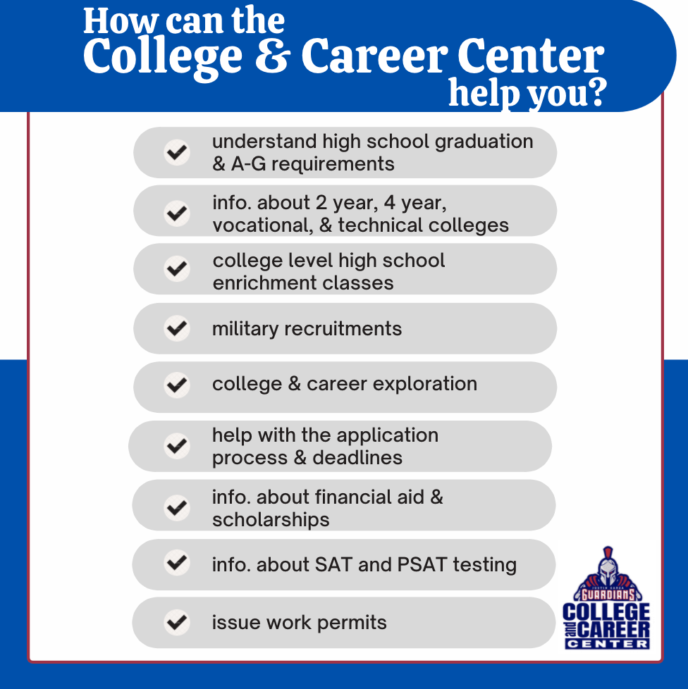 How Can the College & Career Center Help You?