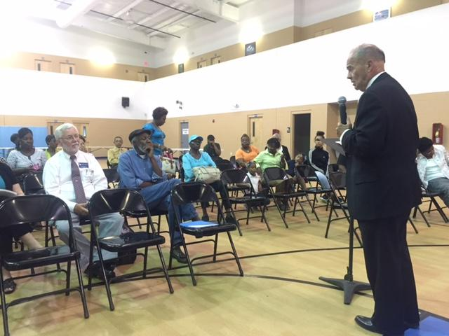Town Hall Meeting held at Agape Family Life Center